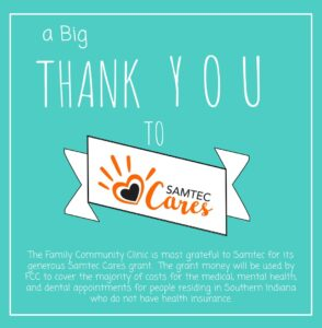Thank you to Samtec Cares